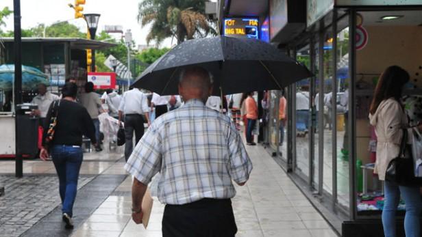 Rige un alerta por tormentas y llega un fuerte descenso de temperatura