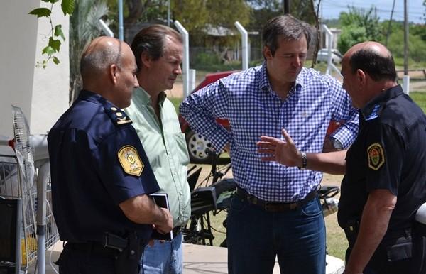 La cúpula policial y jefes departamentales reunidos tratan los aumentos de diciembre