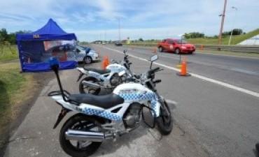 La Policía brindó detalles del operativo montado para la temporada estival en rutas entrerrianas