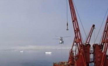 Hoy arriba el buque polar al Puerto de Buenos Aires