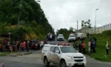 Un nuevo enfrentamiento en una cárcel de Brasil deja 33 presos muertos en Roraima