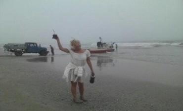 Soledad Silveyra accidentada en Punta del Este