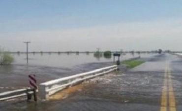 Una camioneta cayó en un arroyo y los cuatro tripulantes fueron rescatados