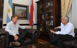 10/01/2018: Bordet acordó con Lauritto una agenda con instituciones de Concepción del Uruguay
