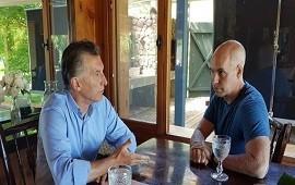 12/01/2018: Macri recibió a Rodríguez Larreta en Villa La Angostura