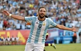 23/01/2018: Selección Argentina Sampaoli abre las puertas al regreso de Higuaín