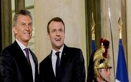 29/01/2018: Macri resaltó el apoyo de su par de Francia para