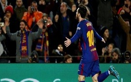 29/01/2018: Barcelona se lo dio vuelta al Alavés con otro gol de Messi