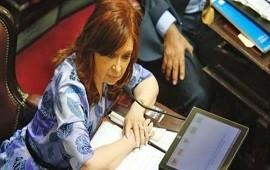 29/01/2018: Cristina Kirchner criticó la reducción de cargos políticos