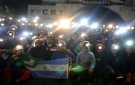 30/01/2018: Tomaron la mina de Río Turbio para protestar contra los despidos