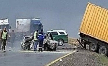 05/01/2018: Un gendarme y su familia son los cinco fallecidos en el accidente vial en el sur de Chile