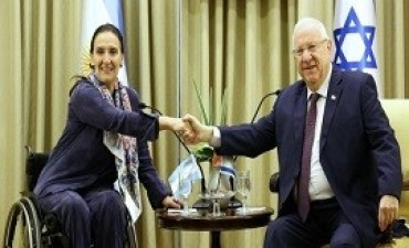11/01/2018: Michetti se reunió en Jerusalén con el presidente de Israel con el objetivo de fortalecer las relaciones económicas