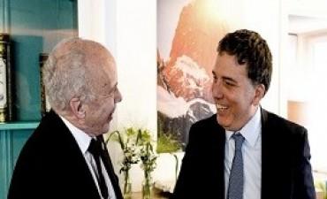 23/01/2018: Dujovne mantuvo reuniones bilaterales con los ministros de Finanzas de Canada y Suiza