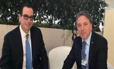 24/01/2018: Dujovne se reunió con el secretario del Tesoro de Estados Unidos
