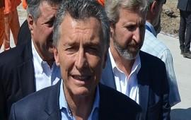 """03/01/2019: Macri: """"Las obras ya no están ligadas a la corrupción"""""""