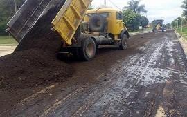 09/01/2019: La provincia pavimentará con fondos propios el acceso a Aldea Spatzenkutter