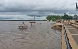 09/01/2019: Se estima que el río Uruguay podría crecer por encima de los 11 metros