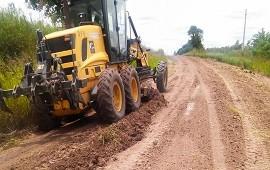 10/01/2019: Las intensas precipitaciones generaron cortes en caminos naturales de diferentes puntos de la provincia