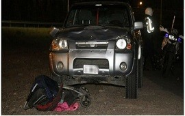 15/01/2019: Un conductor que manejaba borracho atropelló a una familia en Mendoza: mató a una nena y a una joven