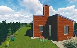 16/01/2019: La provincia adjudicó las primeras viviendas de madera