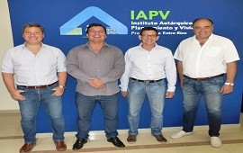 17/01/2019: Planifican viviendas con fondos provinciales para una pequeña comunidad rural de Paraná Campaña