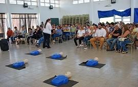 18/01/2019: Se realizó una capacitación de RCP en Colonia Avellaneda