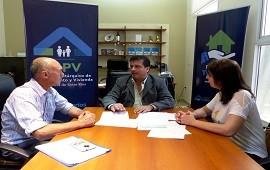21/01/2019: Se construirán con fondos provinciales 10 nuevas viviendas para Los Ceibos
