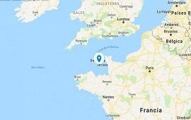 22/01/2019: Canal de la Mancha: el lugar donde desapareció el avión que transportaba a Emiliano Sala