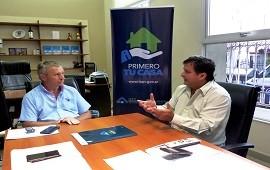23/01/2019: Con fondos provinciales se ejecutarán viviendas en Valle María