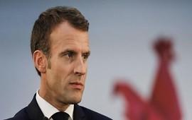 24/01/2019: Macron calificó de