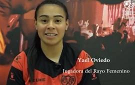 30/01/2019: La concordiense Yael Oviedo hará su debut en la máxima categoría del fútbol de España