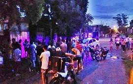 31/01/2019: Vecinos hartos de la inseguridad decidieron perseguir y atrapar a un delincuente