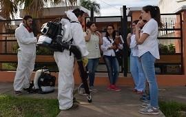02/01/2019: Salud recordó medidas de prevención para evitar el contagio de dengue