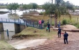 14/01/2019: Encontraron un feto en la estación de bombeo de la Defensa Sur