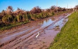 15/01/2019: Prosiguen los cortes de caminos naturales en toda la provincia por el mal tiempo