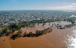 15/01/2019: Cresto advirtió que no se asistirá a quienes hayan retornado a zonas inundables