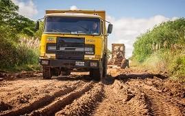 17/01/2019: La red provincial de caminos continúa afectada por las lluvias y crecientes