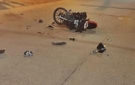 21/01/2019: Un motociclista terminó con traumatismo de cráneo luego de protagonizar un accidente