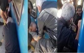 22/01/2019: El dramático rescate de un abuelo que se cayó en las vías del tren y se salvó de milagro
