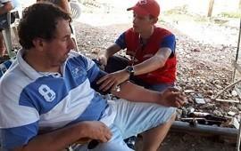 22/01/2019: La Cruz Roja acompaña a las familias afectadas por la creciente