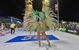 28/01/2019: Con un corsódromo colmado se vivió la primera luna del carnaval concordiense