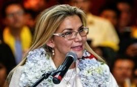 24/01/2020: Jeanine Áñez anunció su candidatura a las elecciones generales en Bolivia