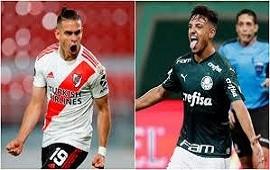 05/01/2021: River sufre en la primera semifinal de la Copa Libertadores: pierde 3-0 ante Palmeiras y fue expulsado Carrascal