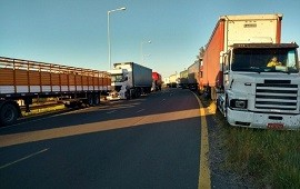 14/01/2021: Transportistas protestarán con cortes de ruta por aumento de tarifas