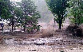 15/01/2021: Ríos desbordados, evacuados y casas arrancadas, el saldo del tremendo temporal en Córdoba