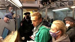 18(01/2021: La Justicia de Rusia le impuso 30 días de prisión preventiva a Alexei Navalny, principal opositor a Vladimir Putin