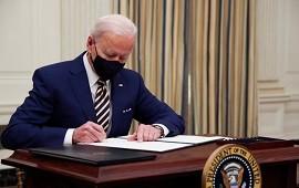 22/01/2021: Joe Biden firmó dos decretos que otorgan ayuda financiera a millones de estadounidenses