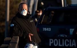 """21/01/2021: Sergio Berni: """"Tendría que estar loco para echar a un policía por saludar respetuosamente a una ex autoridad"""""""