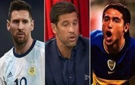 27/01/2021:  Sebastián Domínguez describió cómo fue su embarazosa experiencia marcando a Riquelme y Messi