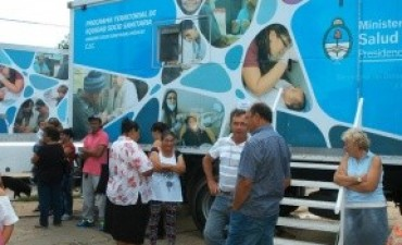 Unas 500 personas realizaron controles de salud y otras consultas en General Campos